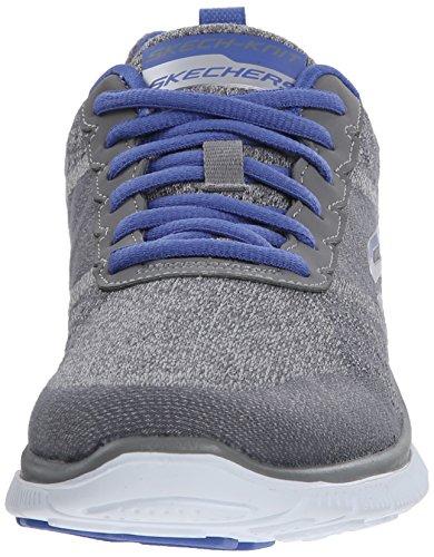 Skechers Flex AppealSimply Sweet Damen Sneakers Grau (Gypr)