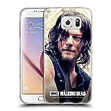 Offizielle AMC The Walking Dead Körperhälfte Daryl Dixon Soft Gel Hülle für Samsung Galaxy S6