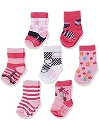 Sterntaler Baby-Mädchen Socken Söckchen 7er-Box