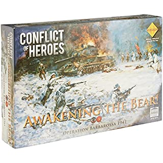 Acacemy Games Conflict of Heroes Awakening The Bear 2nd Edition Board Game