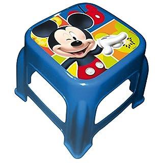 Arditex-067969-Badestufen Kunststoff Rutschfest für Kinder Lizenz-Mickey Mouse-27x 27x 21cm