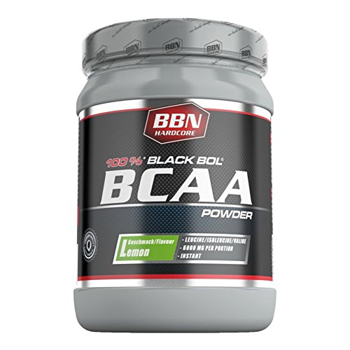 BBN Hardcore BCAA Black Bol Powder Lemon 450 g