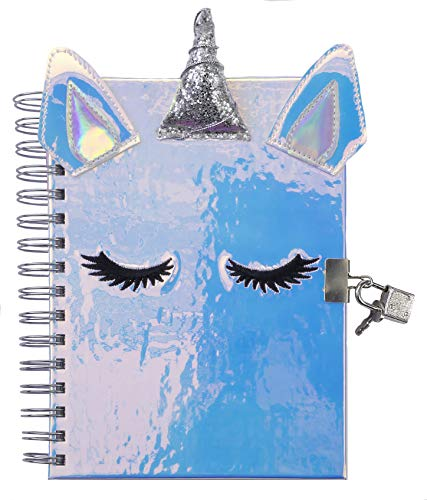 Super Shiny Unicorn Diary (Childrens Diary With Lock)