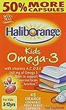 Haliborange Kids Omega-3 Chewy Orange tablets 45