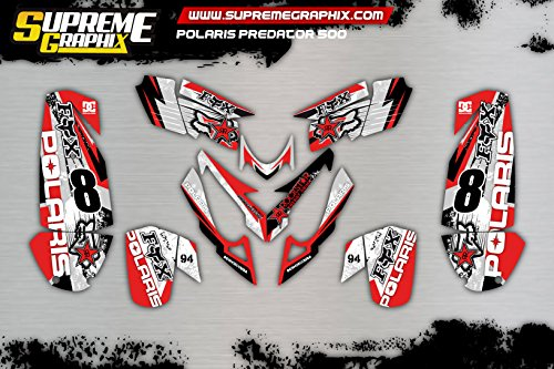 Kit Adhesivos Polaris Predator 500 Stickers ADESIVY