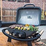 Nexgrill 2Brenner Aluminium 48,3cm Gas Tisch Top Grill BBQ
