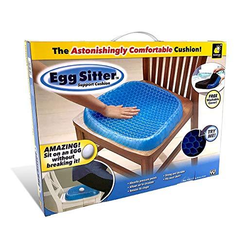 PeiXuan2019 Cuscino del sedile a prova di fatica Il design a nido d\'ape traspirante assorbe i punti di pressione