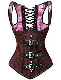 BSLINGERIE® Sexy Femme Denim Cou de Halter corset underbust Shapewear
