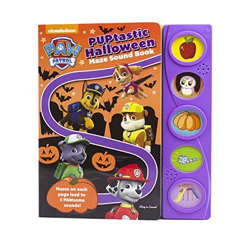 PAW Patrol - PUPtastic Halloween Maze Sound Book - PI Kids