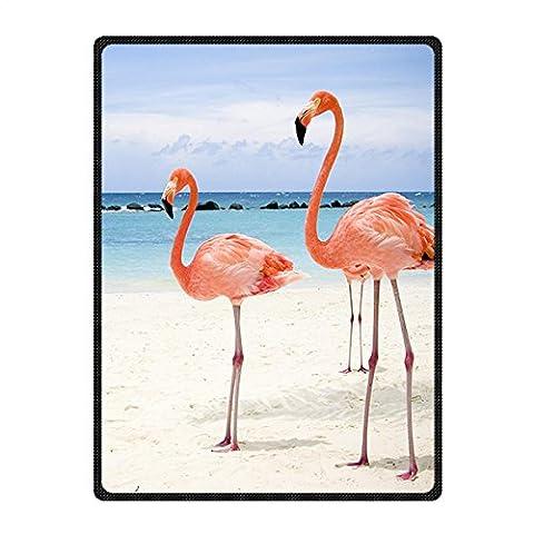 Brauch Flamingo Vlies Decke Blanket 147 Zentimeters x 203