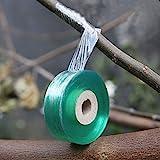 Afwerkingstape, 2 stuks, transparant pijpband, voetafdrukken, elastische band, vochtbarrière, plant, reparatie, tuin, graft,