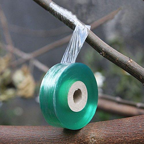 Veredelungsband,2 Pcs transparent Pfropfband,Fuß Pfropfen dehnbare Band,Feuchtigkeit Barriere Pflanze Reparatur Garten Graft Herren Tools