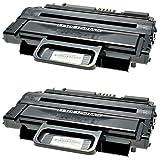 2 Toner kompatibel für Xerox Phaser 3250 DN V - 106R01374 - Schwarz je 5000 Seiten