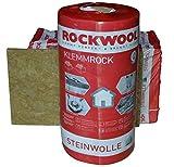 Rockwool Klemmrock 120mm 4qm Dachdämmung Klemmfilz Isolierung WLG 0,35