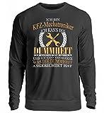 Hochwertiger Unisex Pullover - Ich Bin KFZ Mechatroniker! Auto, Handwerker, Karre, Mechaniker, Reparatur, Schrauben, Schrauber, Werkstatt T-Shirt Shirt