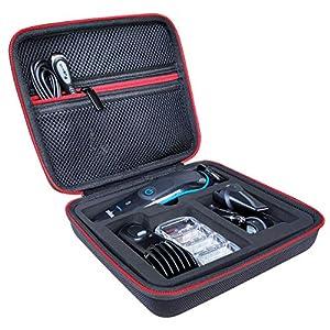 Tasche für Braun MGK3080 Braun MGK3085 Braun MGK3060 Braun MGK3040 Braun MGK3045 Braun Multigrooming Set Hülle Case Etui Tragetasche von KOKAKO