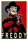 Poster Nightmare - Propaganda Horror - Freddy Krueger - A3 (42x30 cm)