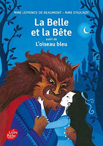 La Belle et la Bête suivi de L'oiseau bleu - collection cadet par Jeanne-Marie Leprince de Beaumont
