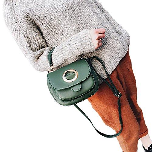 KYFW Frauen Arbeiten Retro- Handtaschen-Handtaschen-Schulter-Beutel-Schulter-Beutel Um B