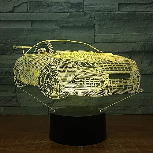 Auto-Touch-Tischlampe Farbe veränderbar Tischlampe Lampe neuartiges Nachtlicht für den lokalen Laden Einzelhandel oder direkt