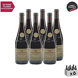 Vin de Savoie Grande Réserve Gamay cru Jongieux Vieilles Vignes Rouge 2017 - Maison Perret - Vin AOC Rouge de Savoie - Bugey - Cépage Gamay - Lot de 6x75cl