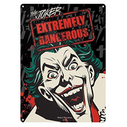 Batman The Joker Metal Wall Sign DC Comics Suicide Squad Killing Joke Official