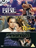 The Bible...In The Beginning/The Robe/Demetrius And The Gladia... [DVD]