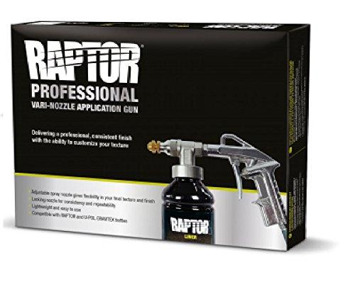 UPOL Lackierpistole Unterbodenschutzpistole mit verstellbarer Düse geeignet für Raptor Beschichtung UBS -