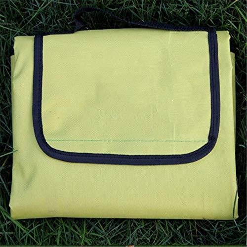 QWEASDZX Einfarbig PicknickmattewasserdichtRasenmatteGröße Feuchtigkeit Pad11 150X200CM