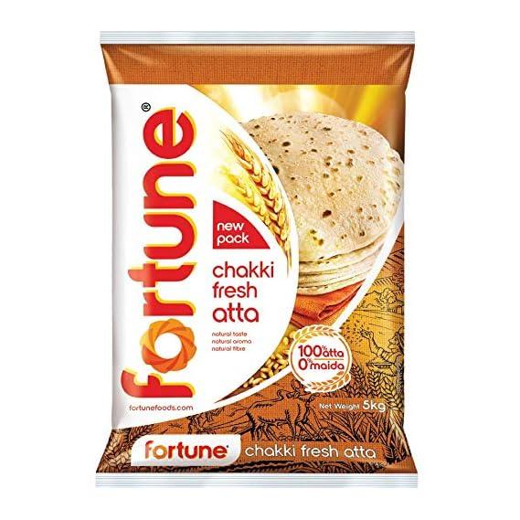 Fortune Chakki Fresh Atta, 5kg_SPNA