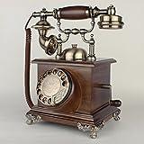 Retro Telefon FJH Drehen Sie Das Zifferblatt zu wählen Haushalt Festnetz verdrahtet Fest Telefon mechanische elektronische Klingeltöne