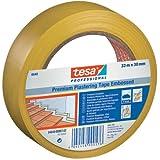 Putzband 4840 Premium, quergerillt, 50 mm x 33 m, gelb