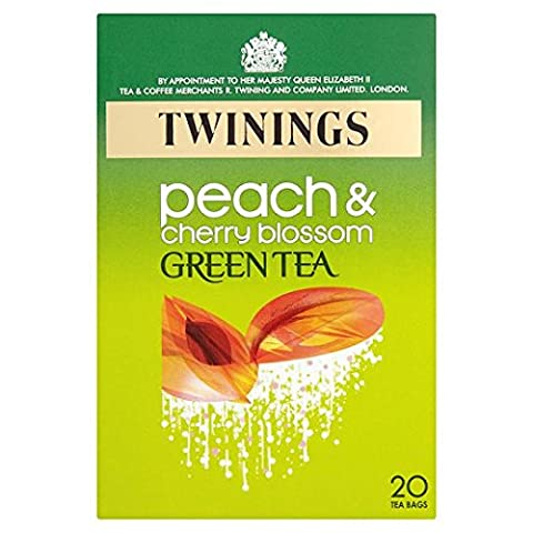Twinings Green Peach And Cherry Blossom 20'S 40G