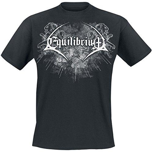 Equilibrium Born To Be Epic T-Shirt nero XXL