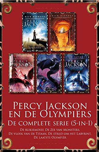 Percy Jackson En De Olympiers Complete Serie 5 In 1