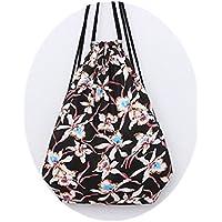 genießen sacchetto turn sacchetto custodia Sacchetto fotocamera Hipster sacchetto di iuta borsa da spiaggia Viaggi Escursionismo Floral fiori