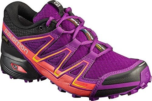 Salomon Speedcross Vario Gtx? W - passion purple/black/gecko gre