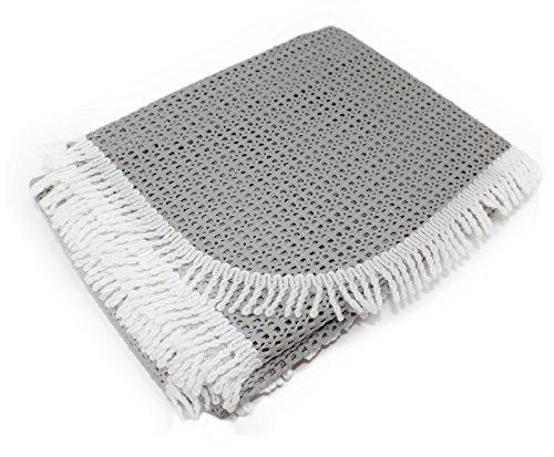 Rustikal Gartentischdecke Tischdecke, grau, 130x160x0,7 cm, 20630