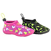Kids Boys Girls Unisex Water Surf Toggle Beach Pool Wet Suit Boots Shoes Size Infant 4- UK 6