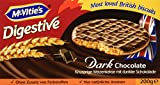 McVities Digestive Dark Chocolate 200 g, 5er Pack (5 x 200 g)