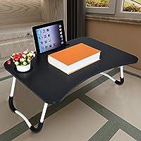 Onefa Mesa de cama ajustable para portátil, escritorio de pie portátil, bandeja de desayuno