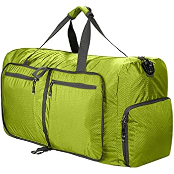 80L Foldable Duffle Bag Lightweight Travel For Shopping Gym Sport Camping Extra Large