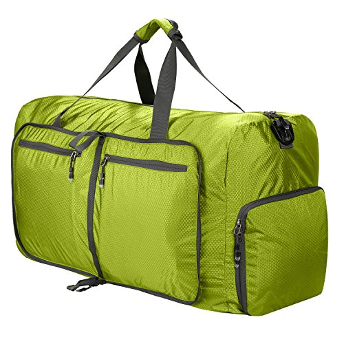 Reisetasche Groß Leichter Faltbare 85L Reisegepäck Duffel Taschen Weekender Übernachtung Taschen Reisetasche Sporttasche für Herren Damen Sport Reisen Gym Urlaub
