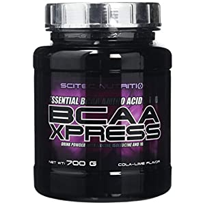 51C8gV2lo5L. SS300  - Scitec Nutrition BCAA Xpress Amino Acid Powder - 700 g, Cola Lime