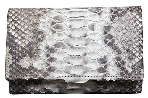 92dccd9c19 Portafoglio Artigianale Donna in Vero Pitone - Prodotto nel cuore della  Toscana - Rettile - Vera