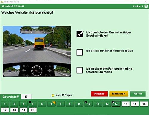 Führerschein Trainer 2018 - original amtlicher Fragebogen - 6