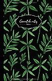 Carnet De Notes: 108 Pages Avec Papier Pointillé 5mm - Petit Format A5 - Couverture Souple Et Mate - Noir Et Vert
