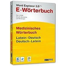 Word Explorer 2.0 Pro Medizinisches Wörterbuch Latein-Deutsch, Deutsch-Latein
