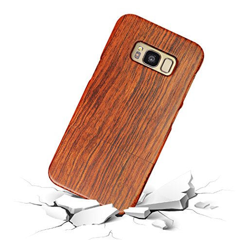 VMAE Wood Cellphone Case For Iphone 7 4.7inch Shockproof 2in1 Hybrid Real Handmade Wood Cellphone Cover Sculpture Pattern Natural Wooden Case For Iphone 7 4.7inch-Tape RoseWood