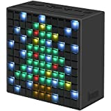 Divoom Timebox Smart Portable Bluetooth 4.0 LED Speaker, With APP-controlled Pixel Art Creation + Animation + Notification, Built- In Clock/ Alarm, Message Recorder And FM Tuner (Black)